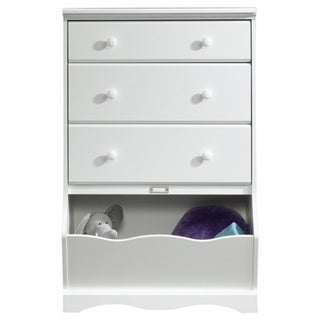Monterey 47-inch 3-drawer White Chest