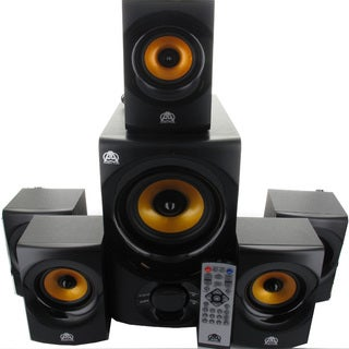 Acoustic Audio AA5170 5.1-channel 700W Bluetooth Home Theater Speaker System with Powered Subwoofer