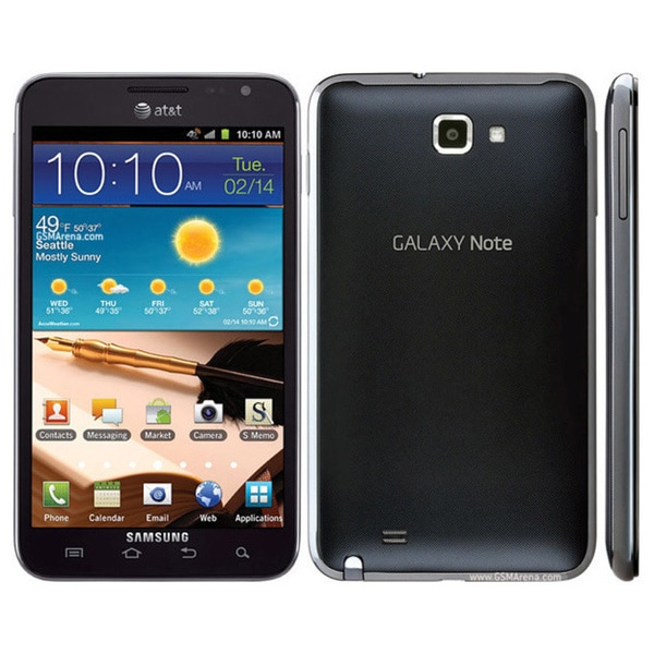 Samsung Galaxy Note SGH-I717 16GB Carbon Blue GSM Unlocked Android Smartphone