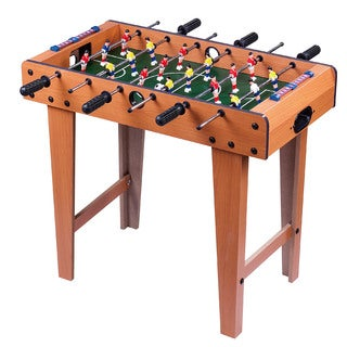 "Giant 27"" Wood Foosball Table with Legs"