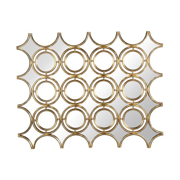 Sara Geometric Wall Mirror