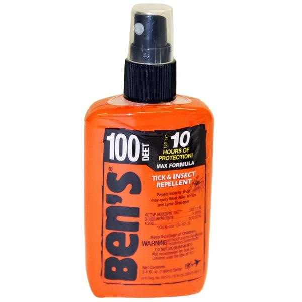 Adventure Medical Bens 100 3.4-ounce Pump