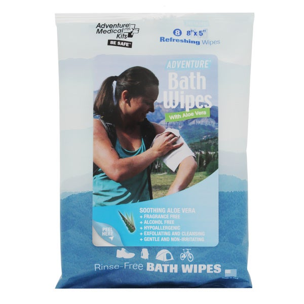 Adventure Medical Travel Size Adventure Bath Wipes