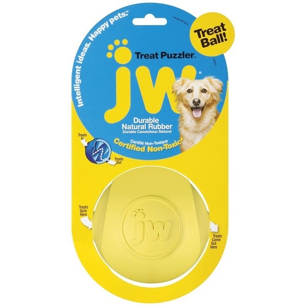 JW Pet Treat Puzzler Treat Ball
