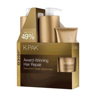 Joico K-Pak Shampoo and Conditioner 8.5-ounce Liter Duo