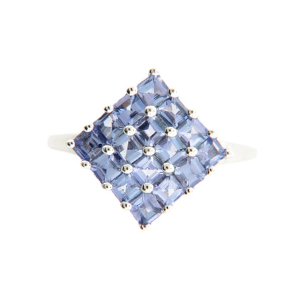 SS PurpleTanzanite Ring