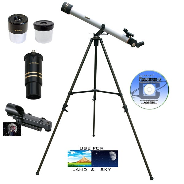 800mm x 60mm Refractor Telescope Kit