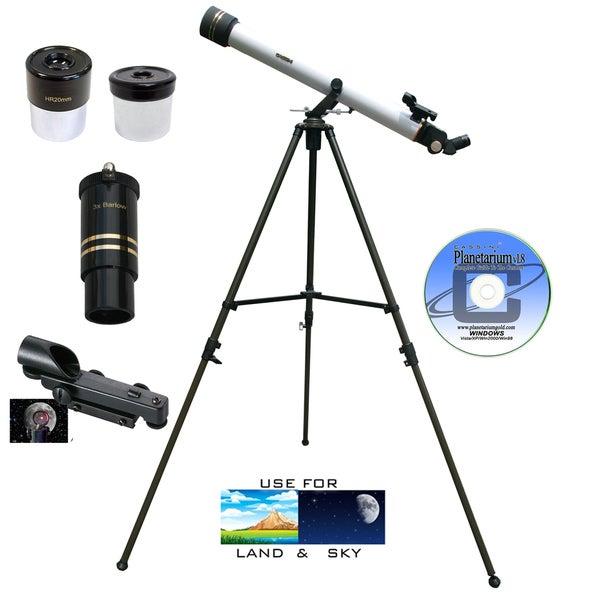 800mm x 60mm Refractor Telescope Kit
