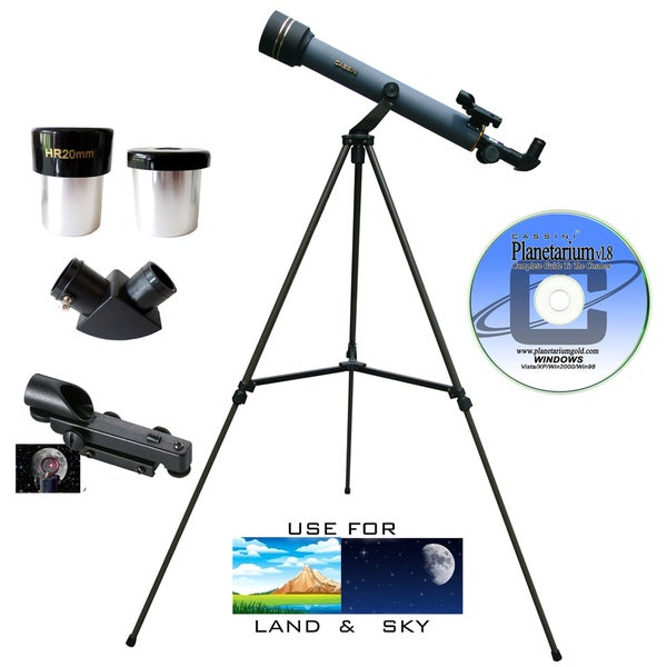 600mm x 50mm Refractor Telescope Kit