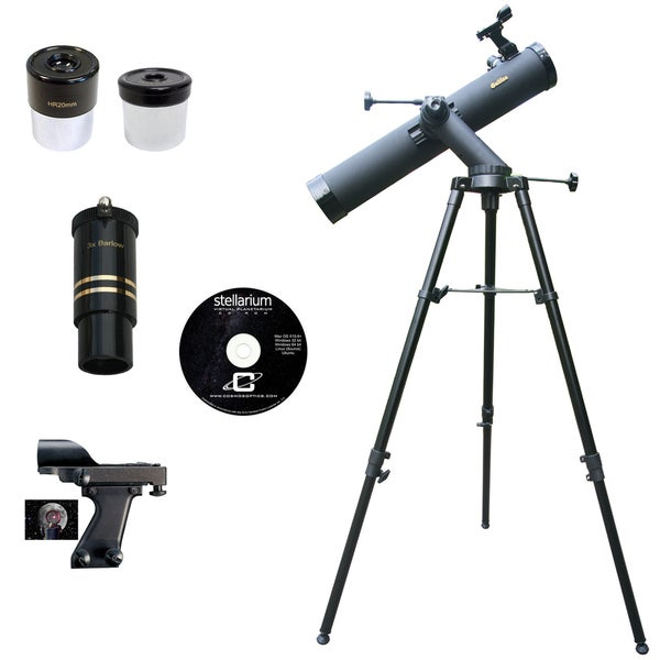 800mm x 80mm TRACKER Astronomical Reflector Telescope Kit