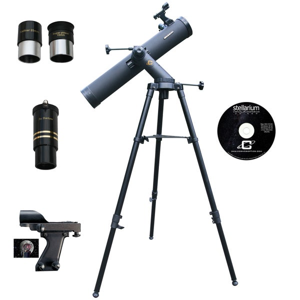 1100mm x 102mm Tracker Reflector Telescope Kit