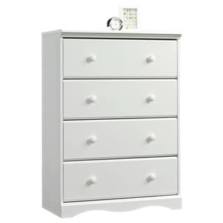 Monterey White 4-drawer Chest