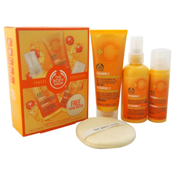 The Body Shop Vitamin C Collection Travel Exclusive 4-piece Kit