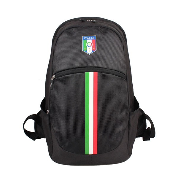 FIGC Italia Black/ Vertical Stripe 13-inch Backpack