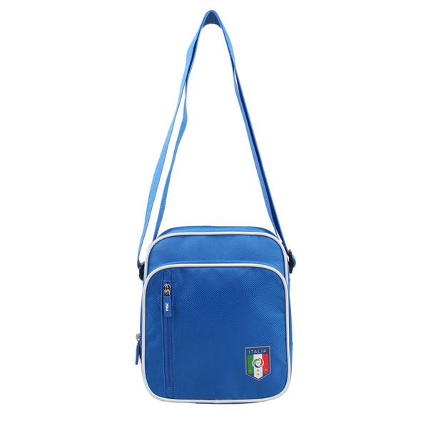 FIGC Italia Blue Tablet Messenger Bag