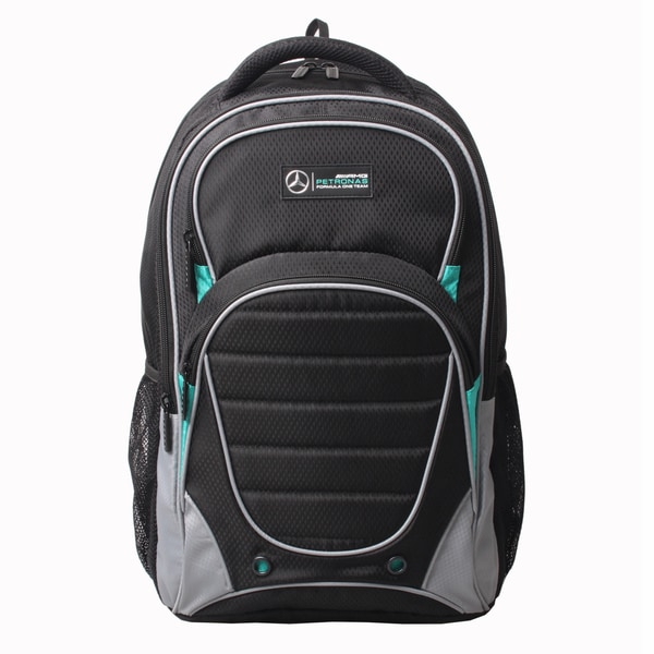 Mercedes amg petronas active 15 inch backpack 17664867 for Mercedes benz backpack