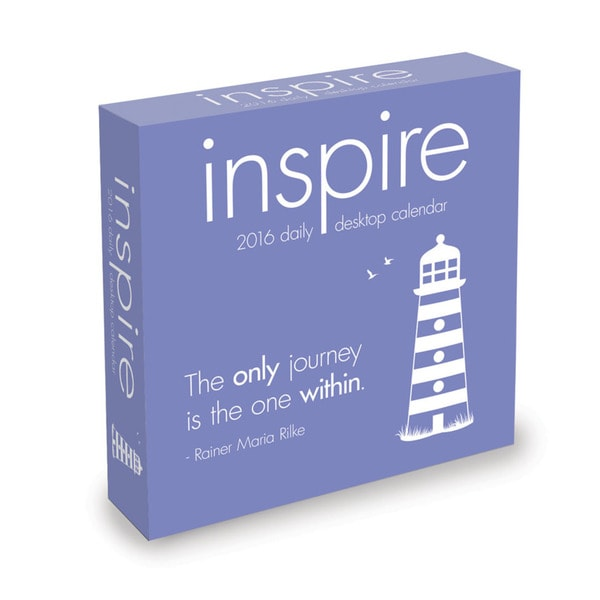 2016 Inspire Daily Desktop Calendar
