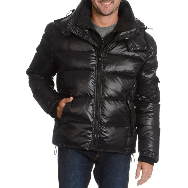 NYC Men's Downhill Front-zip Down Jacket