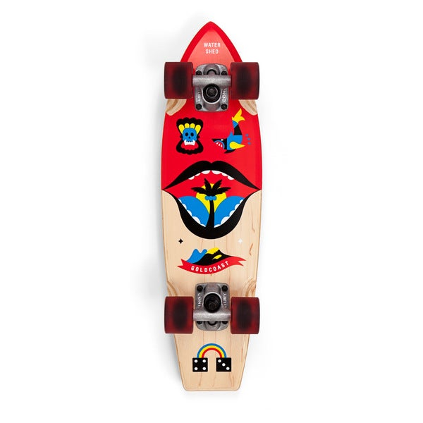 GoldCoast Watershed Cruiser Skateboard Complete