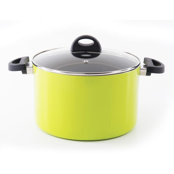 Eclipse Covered stockpot 10-inch Lime