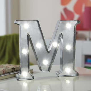 Apothecary & Company 8 inch LED Letter M Marquee Sign