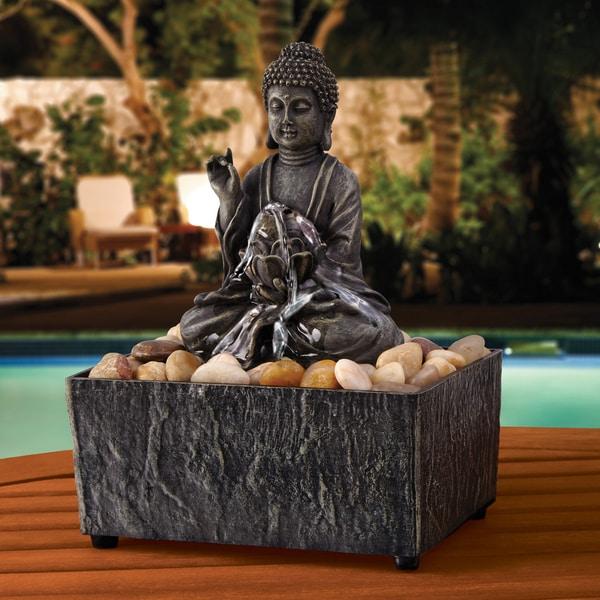 Apothecary & Company Zen Buddha Fountain