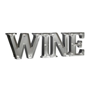 "WINE - 7.5"" LED Marquee Sign (connected)"