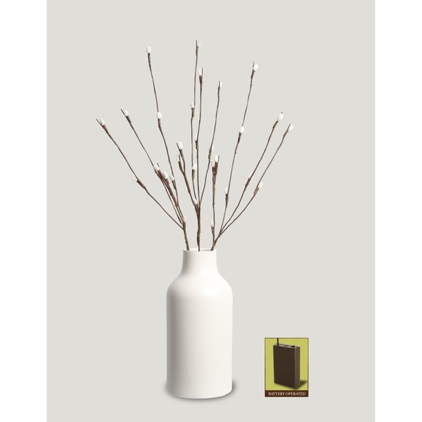 Apothecary & Company Decorative LED Branch Light - White Willow