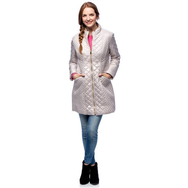 Via Spiga Women's Fitted Walker Jacket