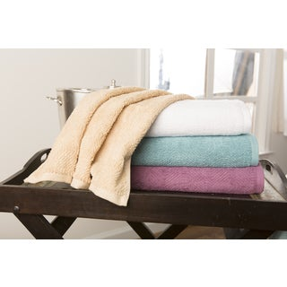 Wave Luxe 2-Piece Bath Towels