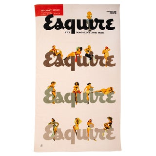 Esquire 'Holiday Belles' Beach Towel - 40-inch x 70-inch