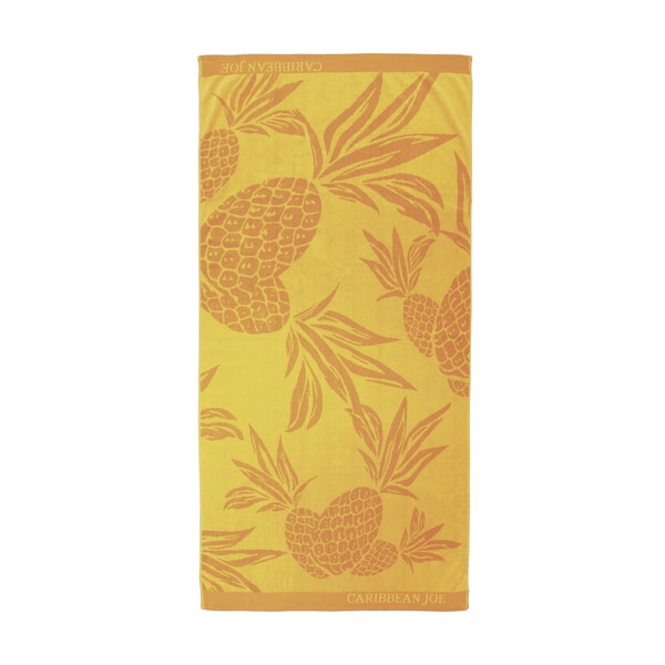 Caribbean Joe Pineapple Beach Towels