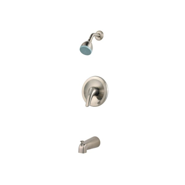 Pfister Pfirst Series Brushed Nickel Trim Kit with Lever