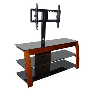Avista Nexus Espresso TV Stand with Rear Swivel/ Tilt Mount for up to 130 pounds/ 55-inch TV