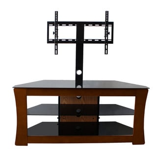 Avista Visto Espresso TV Stand with Rear Swivel Mount for up to 110 pounds/ 55-inch TV
