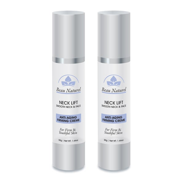 Beau Natruel Instant Neck Lift-Smooth Neck and Face Anti-Aging Firming Creme