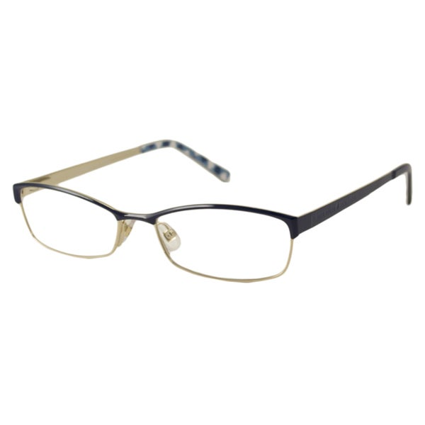 Kate Spade Women's Alfreda Navy Rectangular Optical Frames