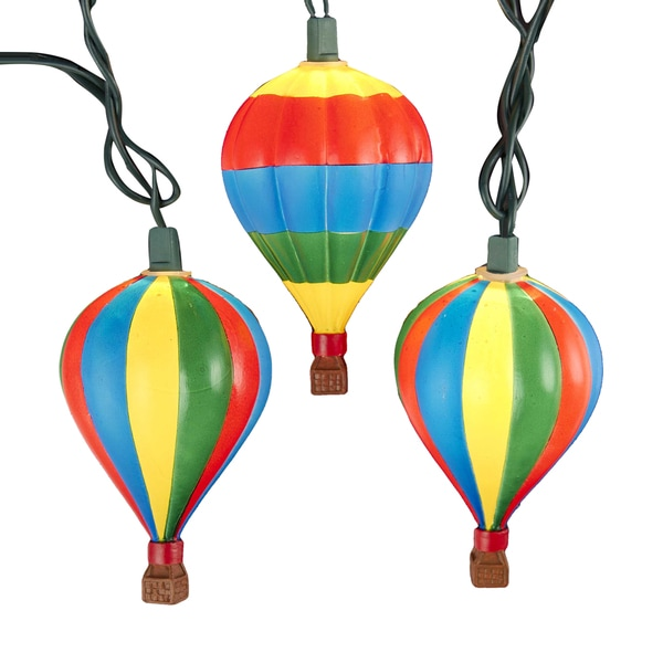 Kurt Adler UL 10-Light Hot Air Balloon Light Set