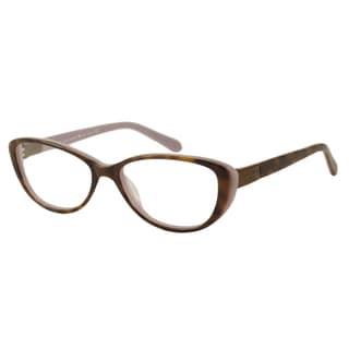 Kate Spade Women's Finley Tortoise Cat-Eye Optical Frames