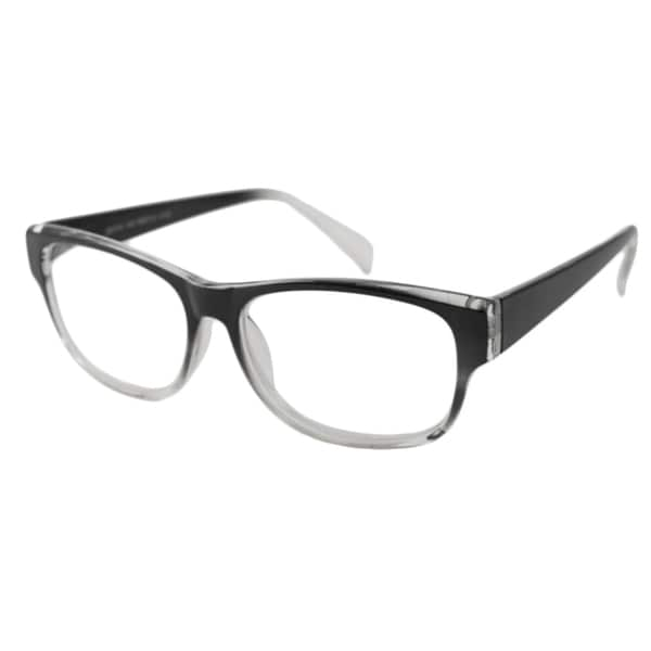 Urban Eyes Men's/Unisex UE99114 Black Fade Rectangular Reading Glasses