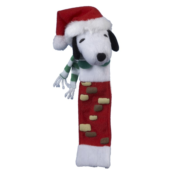 Kurt Adler 8 Inch Plush Peanuts Snoopy Bookmark