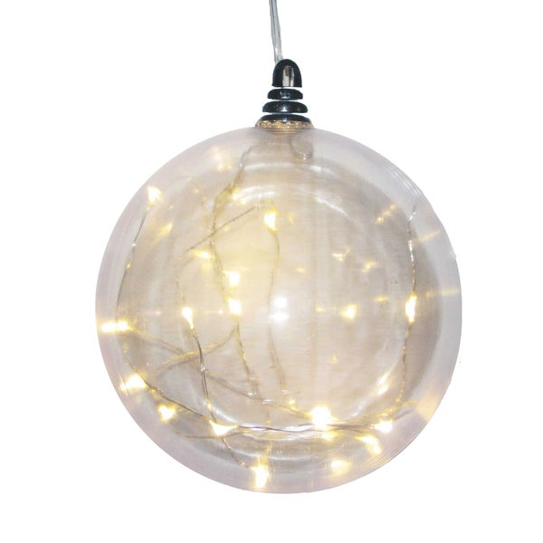 Kurt Adler 150mm Battery-Operated Shatterproof LED Ball Ornament
