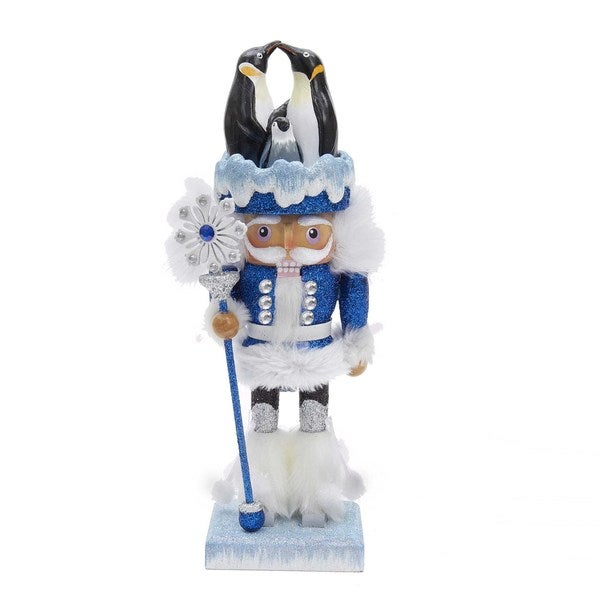Kurt Adler 12 in. Hollywood Penguin Nutcracker