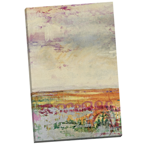 Portfolio Canvas Decor 'Wildflower Sunrise I Crop' by Leila Gallery Wrapped Canvas