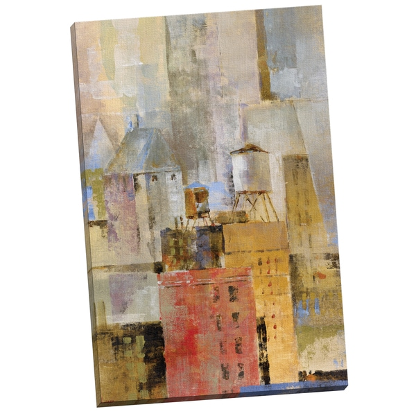 Portfolio Canvas Decor 'Water Tower I' by Longo Gallery Wrapped Canvas