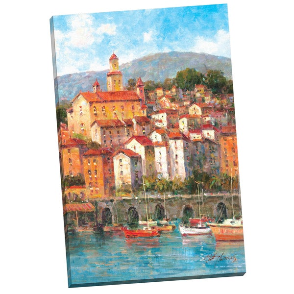 Portfolio Canvas Decor 'Waterfront ' by Matt Thomas Gallery Wrapped Canvas