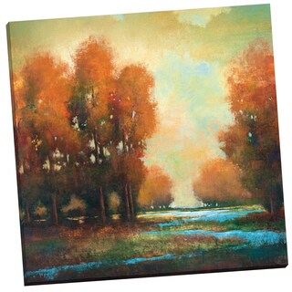 Portfolio Canvas Decor 'Winding River' by Alfonso Gallery Wrapped Canvas