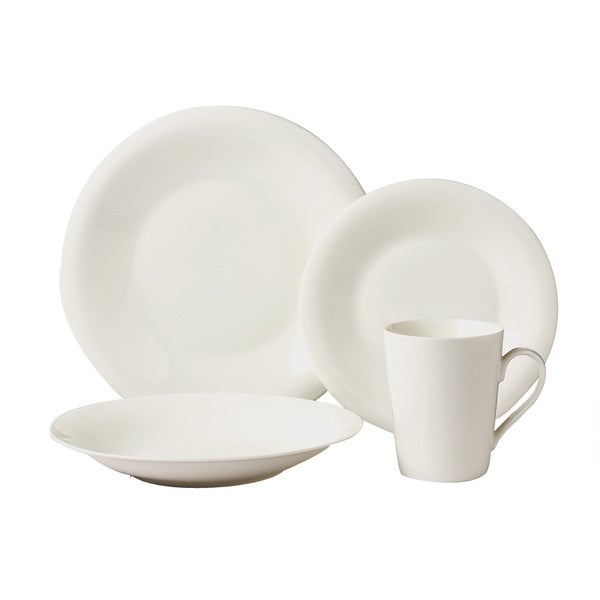 Exclusive 16-piece Bone China Dinnerware Set (Service for 4)