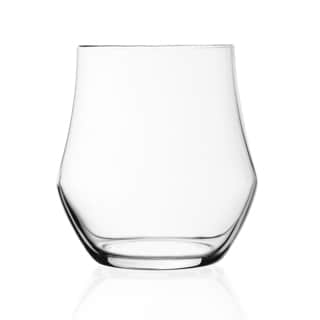 Lorren Home Trends Ego Collection Double Old Fashioned Glassware (Set of 6)