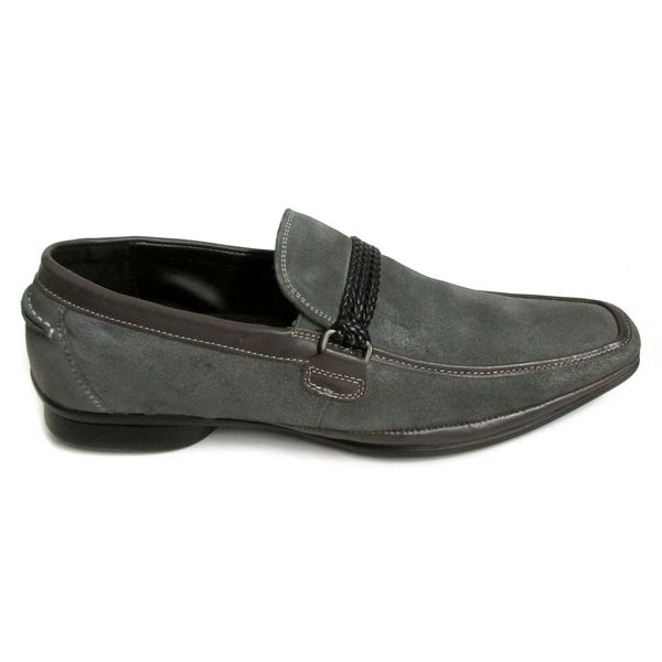 Kenneth Cole New York Men's Big Band Grey Suede Loafers